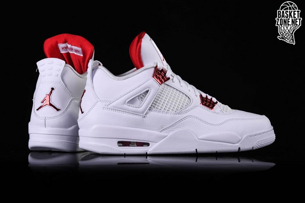 Air Jordan 4 Retro GS 'Red Metallic'