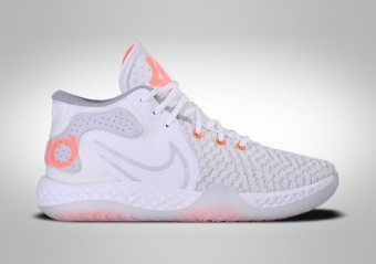 NIKE KD TREY 5 VIII WHITE TOTAL ORANGE