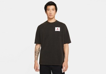 NIKE AIR JORDAN FLIGHT CREW TEE BLACK