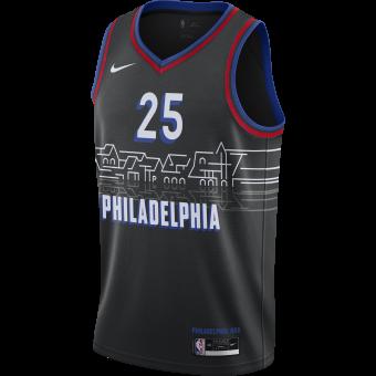 NIKE NBA PHILADELPHIA 76ERS CITY EDITION SWINGMAN JERSEY