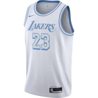 NIKE NBA LOS ANGELES LAKERS CITY EDITION SWINGMAN JERSEY