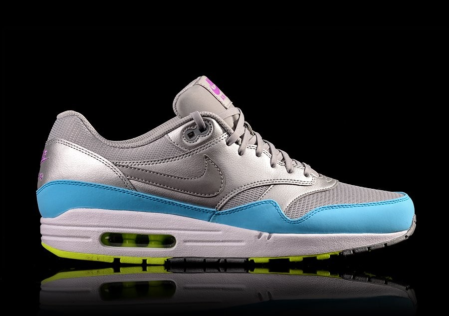 NIKE AIR MAX 1 FB BLUE METALLIC SILVER