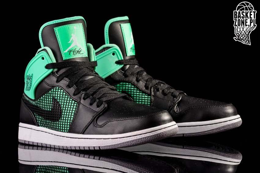 ... wholesale nike air jordan 1 retro 89 black green glow 432b5 fa0b4 44ed1b7e2