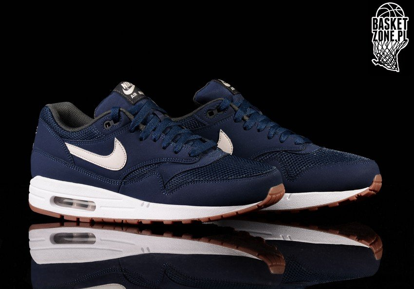 outlet store 5f0d8 4914e ... best price nike air max 1 essential navy light bone bcf9c 913fb