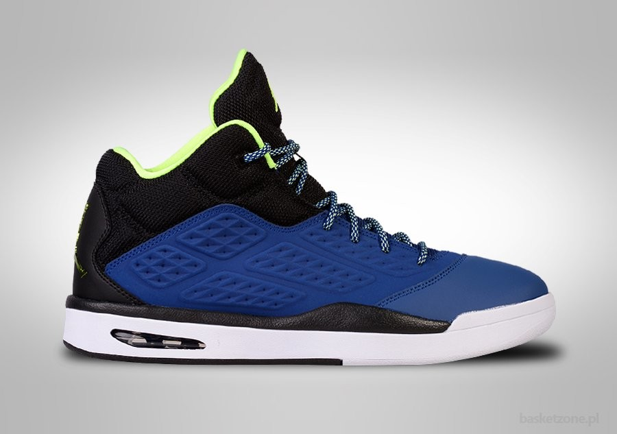 NIKE AIR JORDAN NEW SCHOOL BLACK ROYAL BLUE