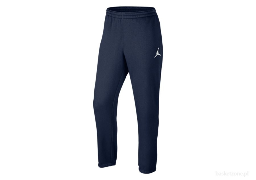 NIKE JUMPMAN BRUSHED WC PANT MIDNIGHT NAVY/WHITE
